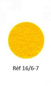 009 - Feutre jaune d'or
