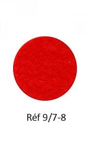 011 - Feutre rouge feu