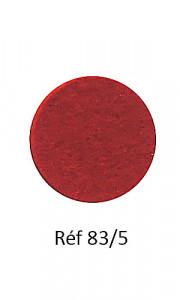 013 - Feutre rouge cardinal