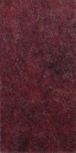 010135 - Feutre Tinged Red Black, au mètre