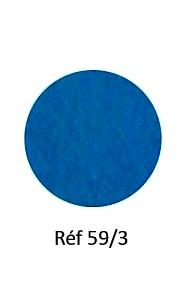 016 - Feutre bleu pétrole