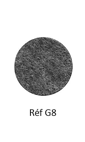 004 - Feutre chiné gris foncé
